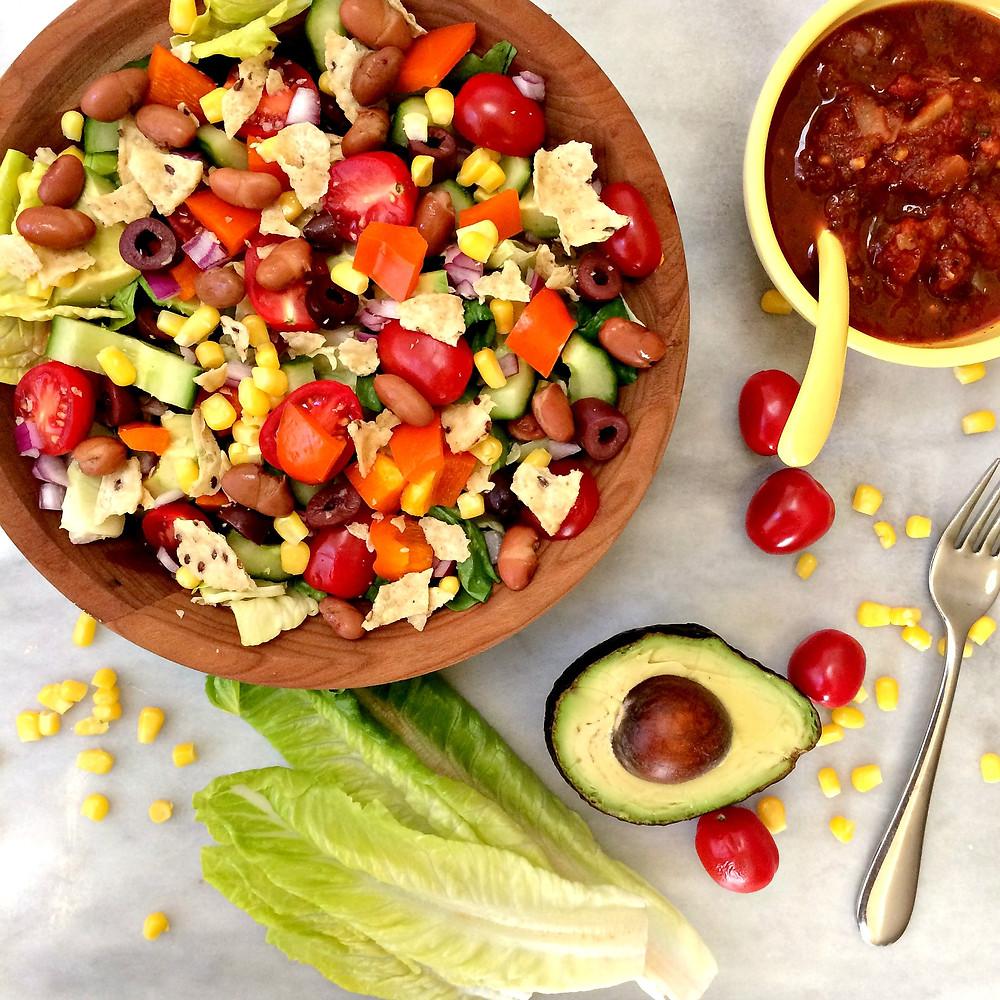 15 Minute Taco Salad