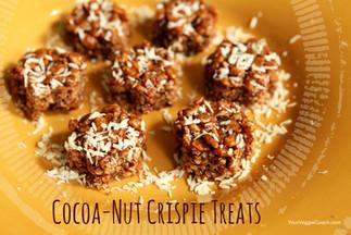 Cocoa-Nut Crispie Treats