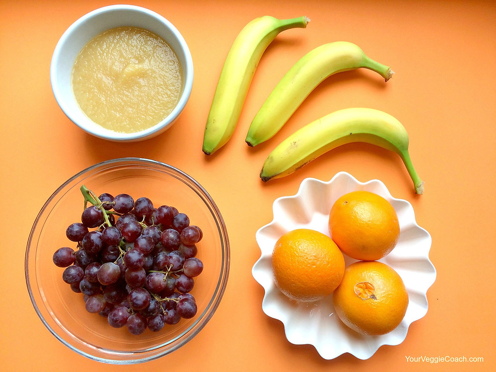 Week of Fruit for a Younger Child