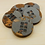 Thumbnail: Concrete & Copper-Pigmented Resin Coasters with Tile Inlay