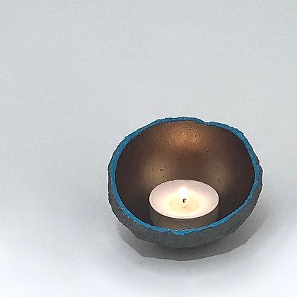 "Hand-cast Concrete Bowl (3"" diameter)"