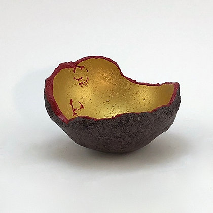 "Hand-cast Concrete Bowl (4"" diameter)"