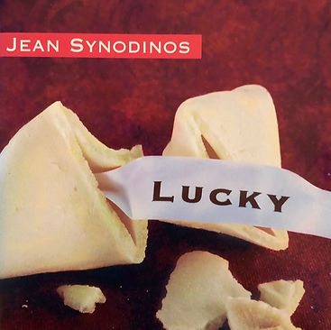 CD cover for Lucky from Jean Synodinos