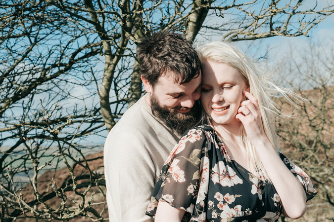 Natural outdoor couples maternity photog