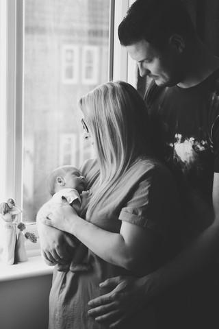 Isobel Newborn In-Home Lifestyle Family