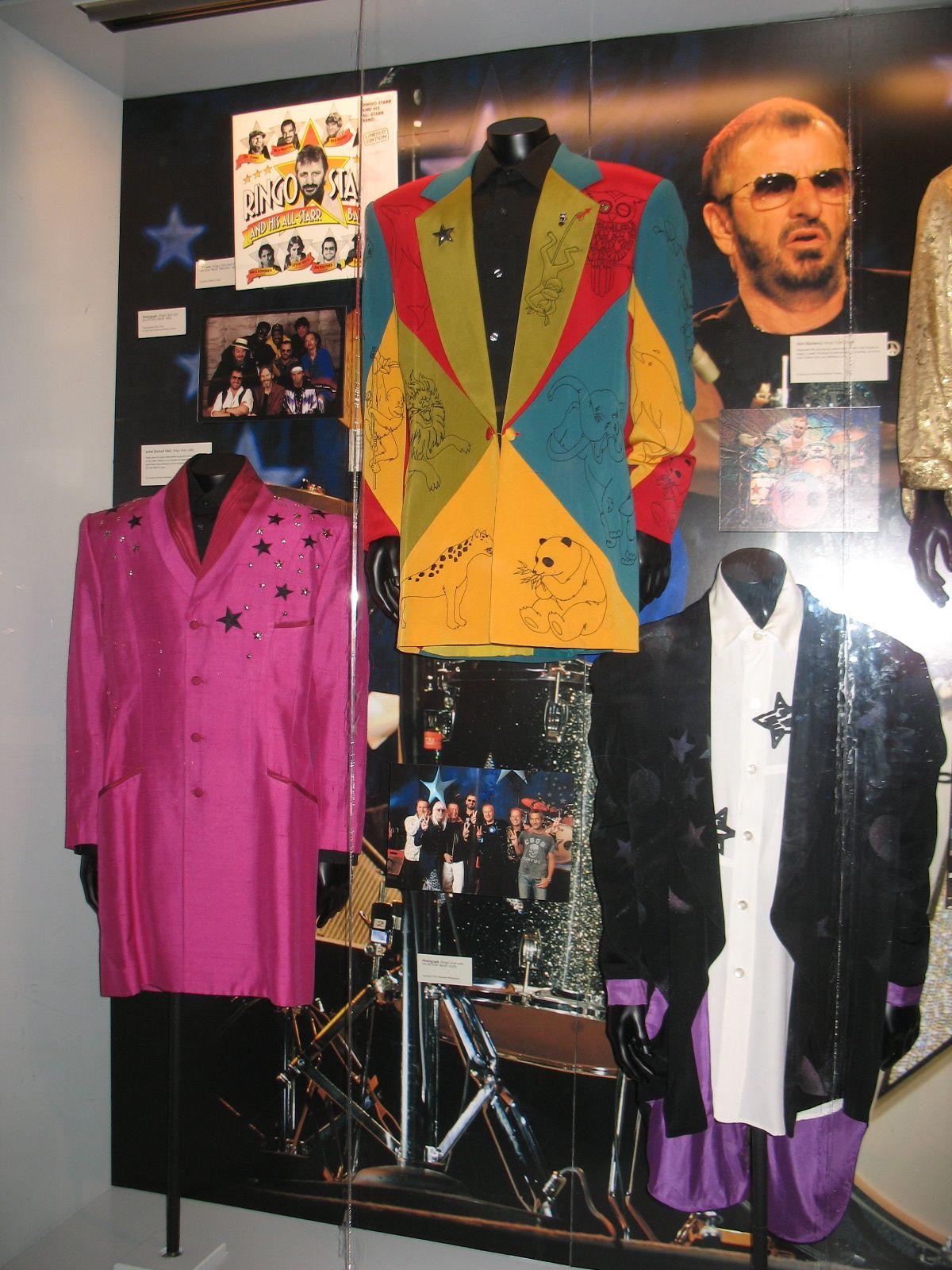 RIngo Starr - Grammy Museum Exhibit