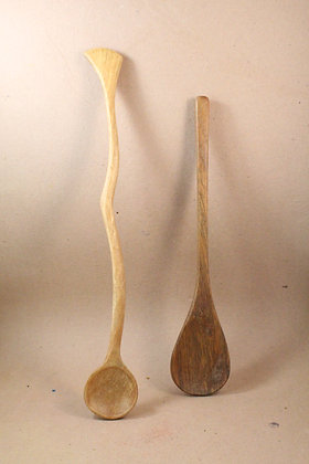 Wooden Assorted Kitchen Cutlery Natural Finish PRODUCT CODE - 0304