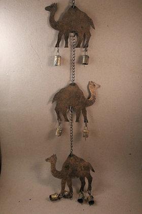 Iron 3 Camel / Elephant Hanging PRODUCT CODE - 0295