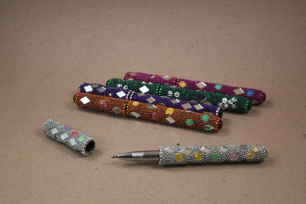 Lac Mirror Ball Pen / Diary Set  PRODUCT CODE - 0283