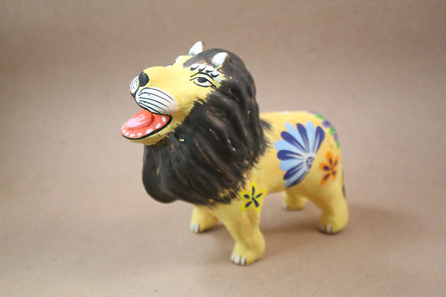 Paper Mache Lion Incense Holder PRODUCT CODE - 0272