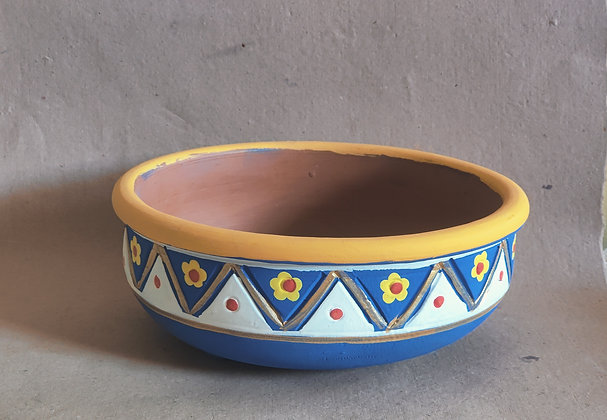 Terracotta Planters Painted PRODUCT CODE - 0332