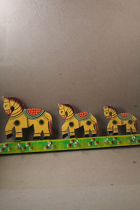 Wooden Animals / Birds Toys Painted Key / Coat Hanger PRODUCT CODE - 0278