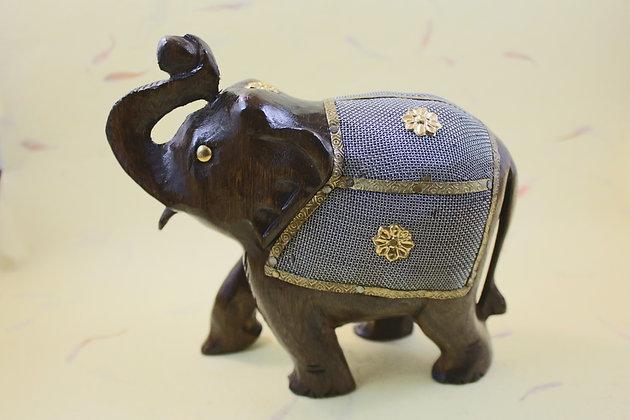 Wooden Elephant Fine Net Work  PRODUCT CODE - 0124