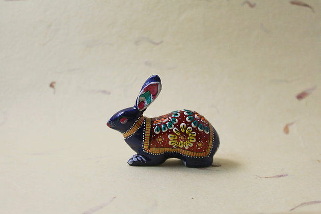Metal Rabbit Painted  PRODUCT CODE - 0167