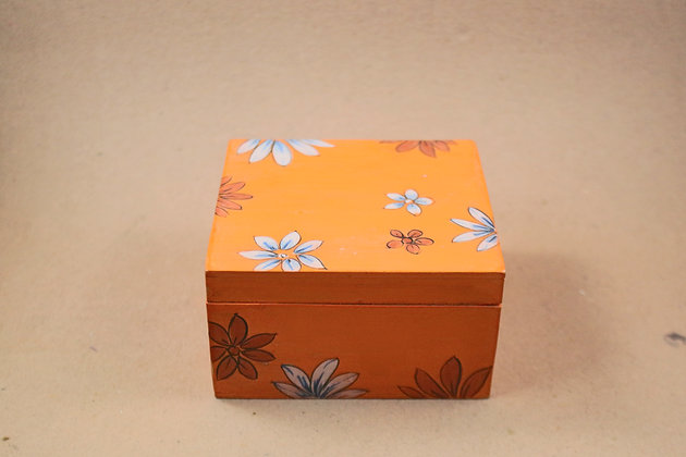 Wooden Storage Box ( Assorted Prints )  PRODUCT CODE - 0176