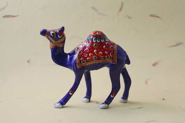 Metal Camel Painted  PRODUCT CODE - 0168