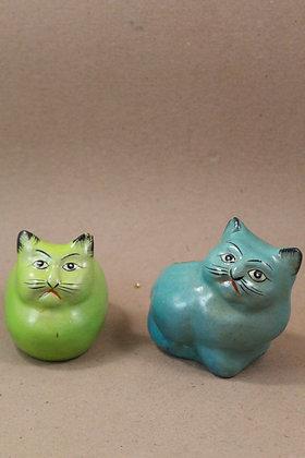 Paper Mache Cat Tea Light Holder PRODUCT CODE - 0229
