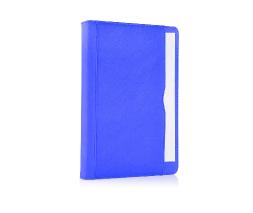 Blue iPad Air Premium Leather Tan Case