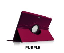 Purple Galaxy Tab 4 10.1 360 Rotating Case