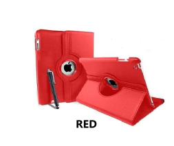 Red iPad Air 360 Rotating Case