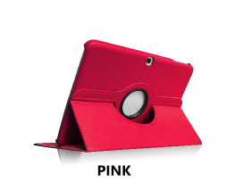 Pink Galaxy Tab 4 10.1 360 Rotating Case
