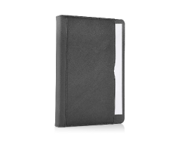 Black iPad Air 2 Premium Leather Tan Case