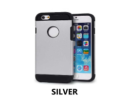 "Silver iPhone 6 4.7"" Tough Armour Case"
