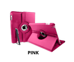 Pink iPad Air 360 Rotating Case