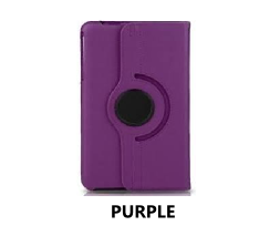 Purple Galaxy Tab 4 8.0 360 Rotating Case