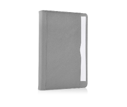 Grey iPad Air Premium Leather Tan Case