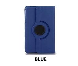 Blue Galaxy Tab 4 8.0 360 Rotating Case