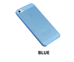 Blue iPhone 5/5s Ultra Thin Matte Case