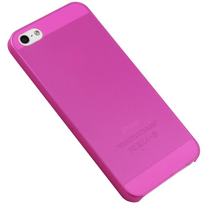 Pink iPhone 5/5s Ultra Thin Matte Case