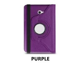 Purple Galaxy Tab 4 7.0 360 Rotating Case