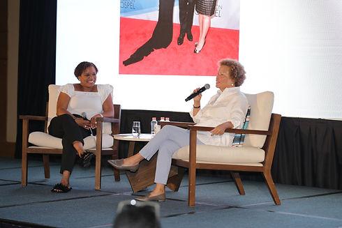 Debra Lee and Khadijah 2018 Conference.J
