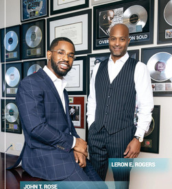 Billboard's 2020 Top Music Lawyers Leron E. Rogers and John T. Rose