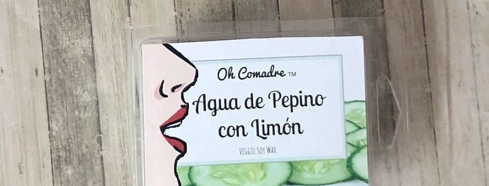 Agua de Pepino con Limón Wax Melt