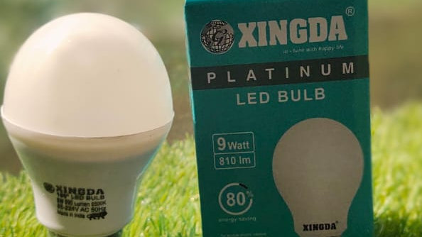 XINGDA 5 WATT PLATINUM LED BULB