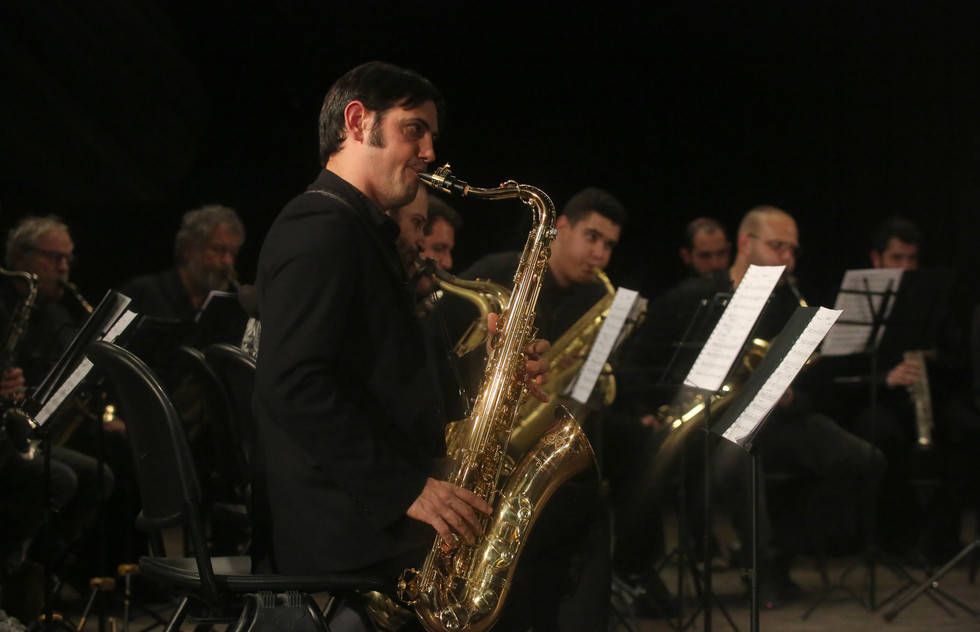 100 Saxophones by Stephen Horenstein, a Project of the Jerusalem Institute of Contemporary Music
