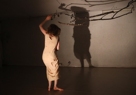 'Pastoralia' by Dorin Amitzur, performed at the end of a course 'Learning Creation Processes' by Tamar Borer