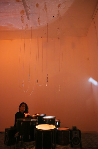 'Infusion', a sound installation by Aya Gavriel