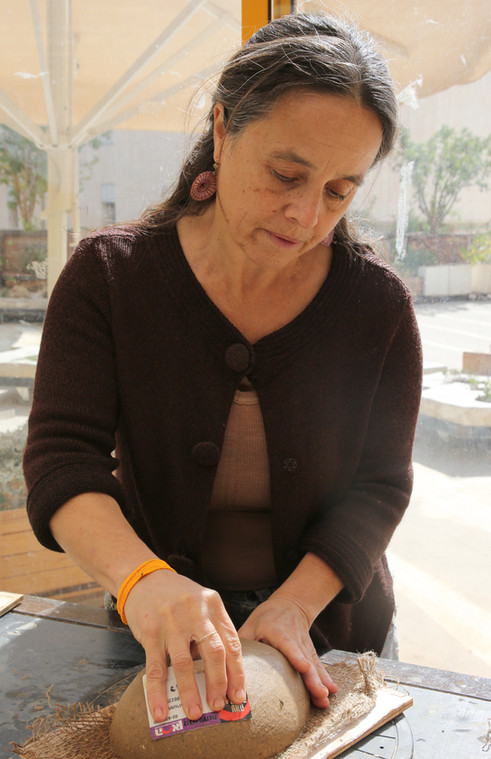 'Contemplating Earth', a workshop by Daphna Aylon