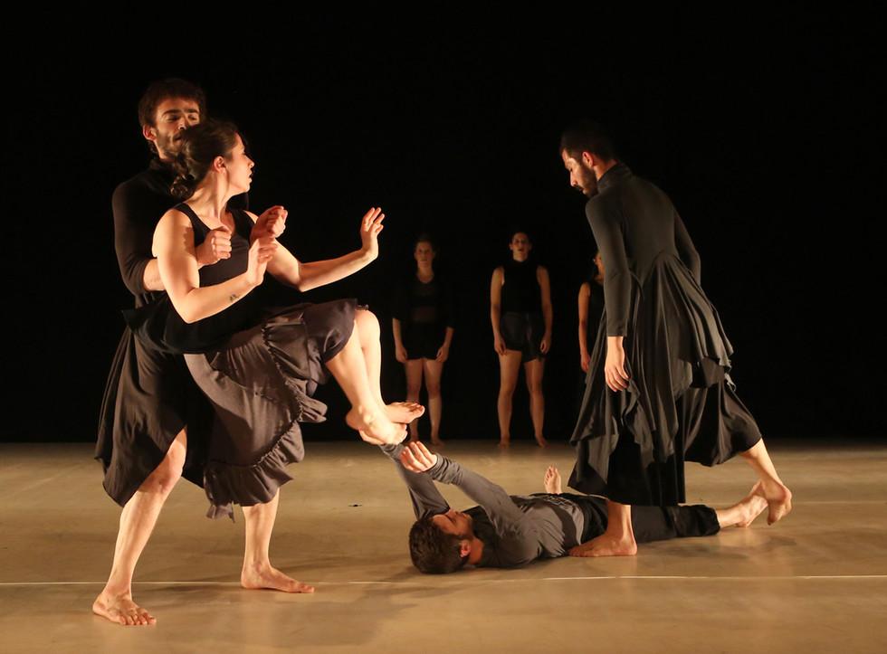 The Graduates of Vertigo Dance Education Program, 2018