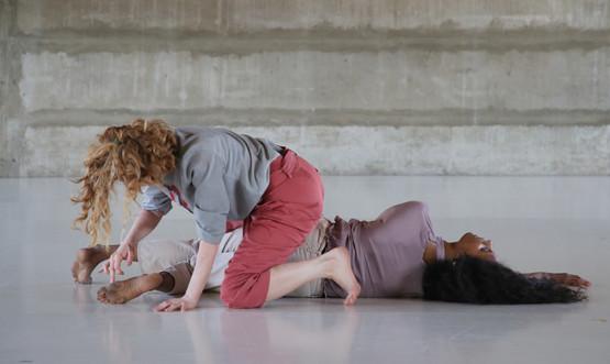 Ortal Atzbaha and Galiya Tzur in 'Pangea' by Ayala Frenkel, 2018