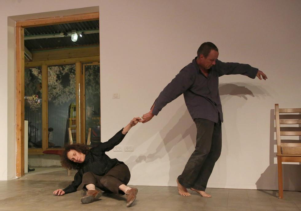 RTC - Anat Shamgar and Frank van de Ven, performed in Barbur Gallery