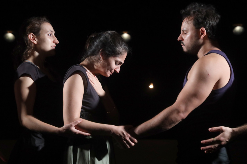 The Odyssey, directed by Matan Amsalem, performed by the students of Nissan Nativ acting studio