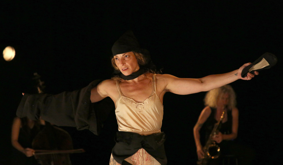 Anat Grigorio in 'Tragedy of Being', 2