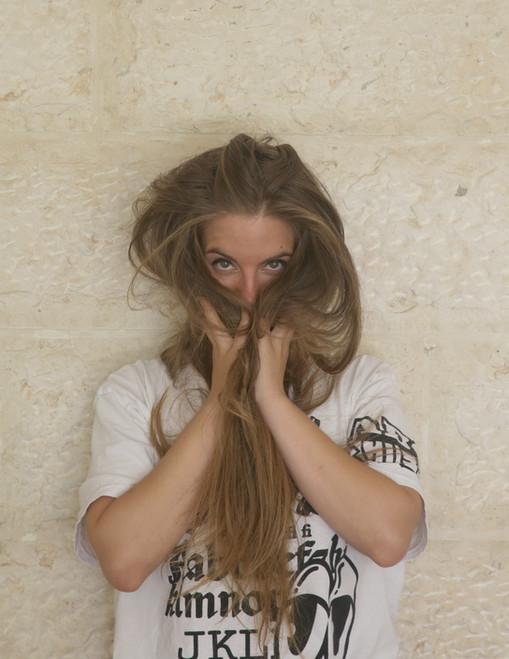 Acting book photoshoot for Raphaelle Enderlin
