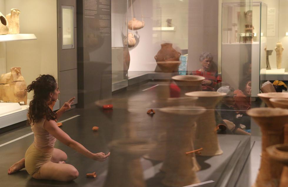 'Bone' by Noa Shilo, performed in the Israel Museum, Jerusalem, 2017