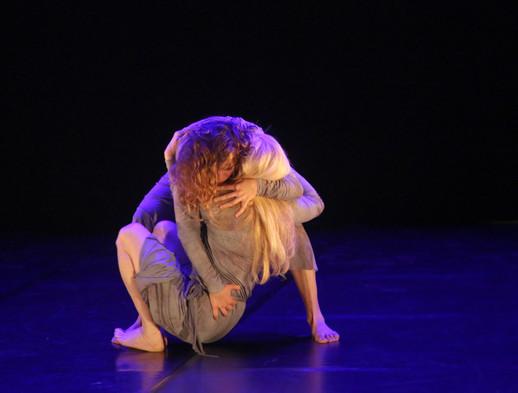 Orit and Alma Livne in 'Duets' by Tamar Binyamini